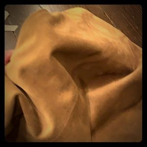 Ralph Lauren suede mini skirt.